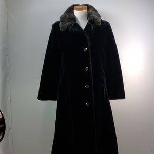 AZENS FURS PITTSBURGH AWESOME FUR COAT SIZE 8